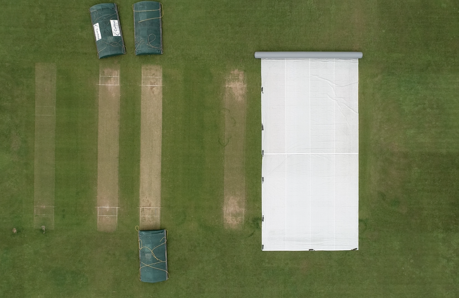 Cricket over shot 2