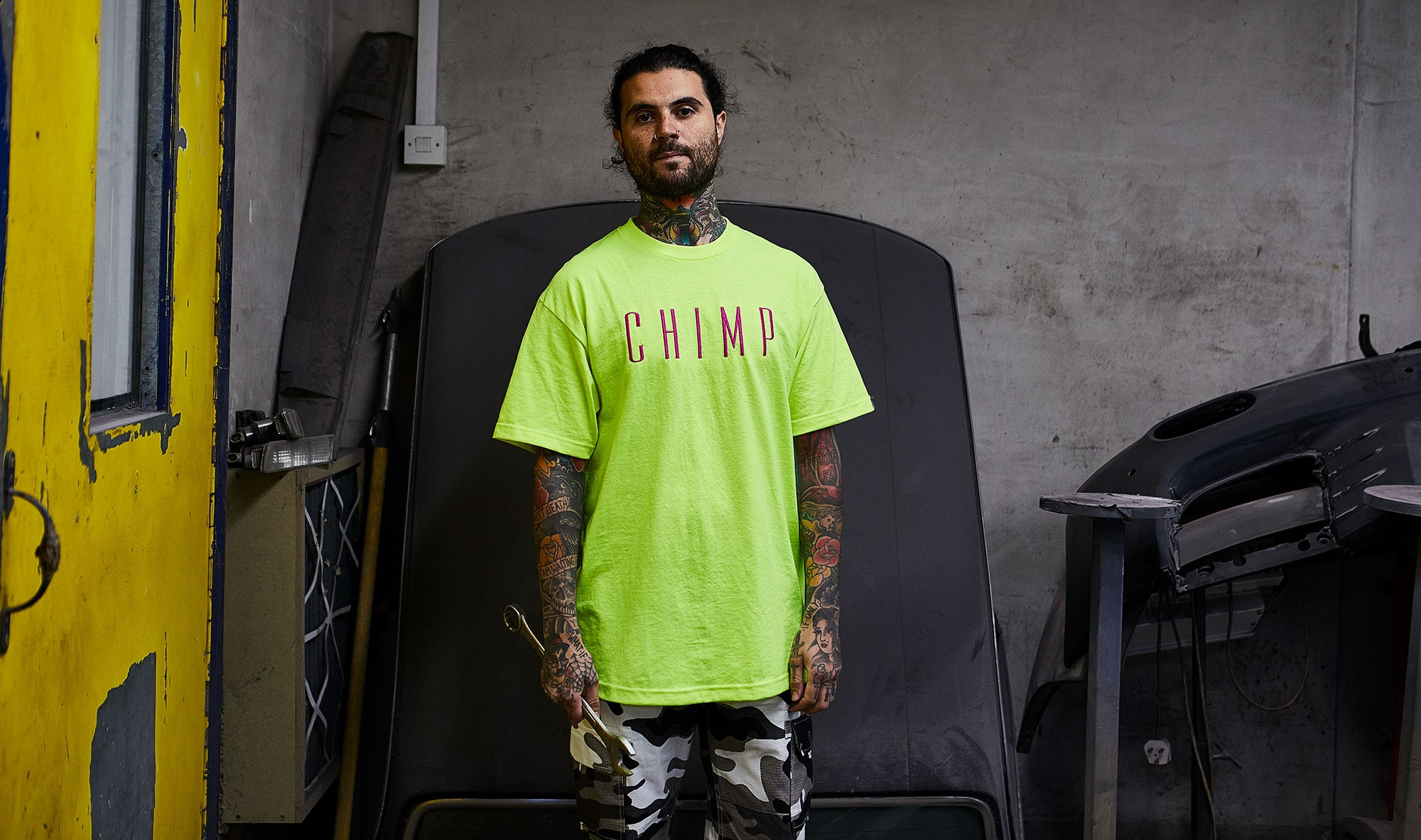 Chimp 'High Vis' Collection Launch.