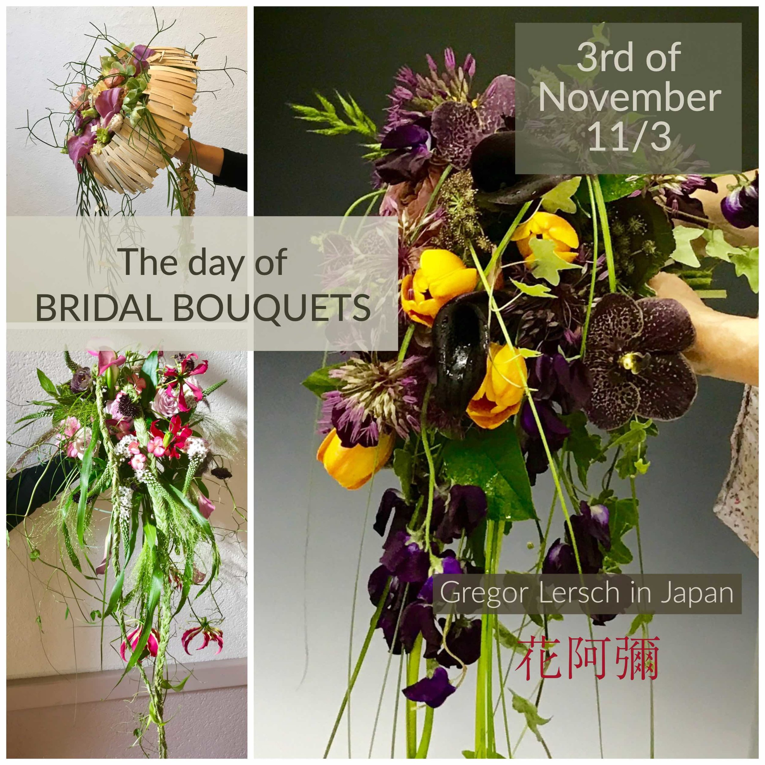 Day 2 Bridal Bouquets 11/3