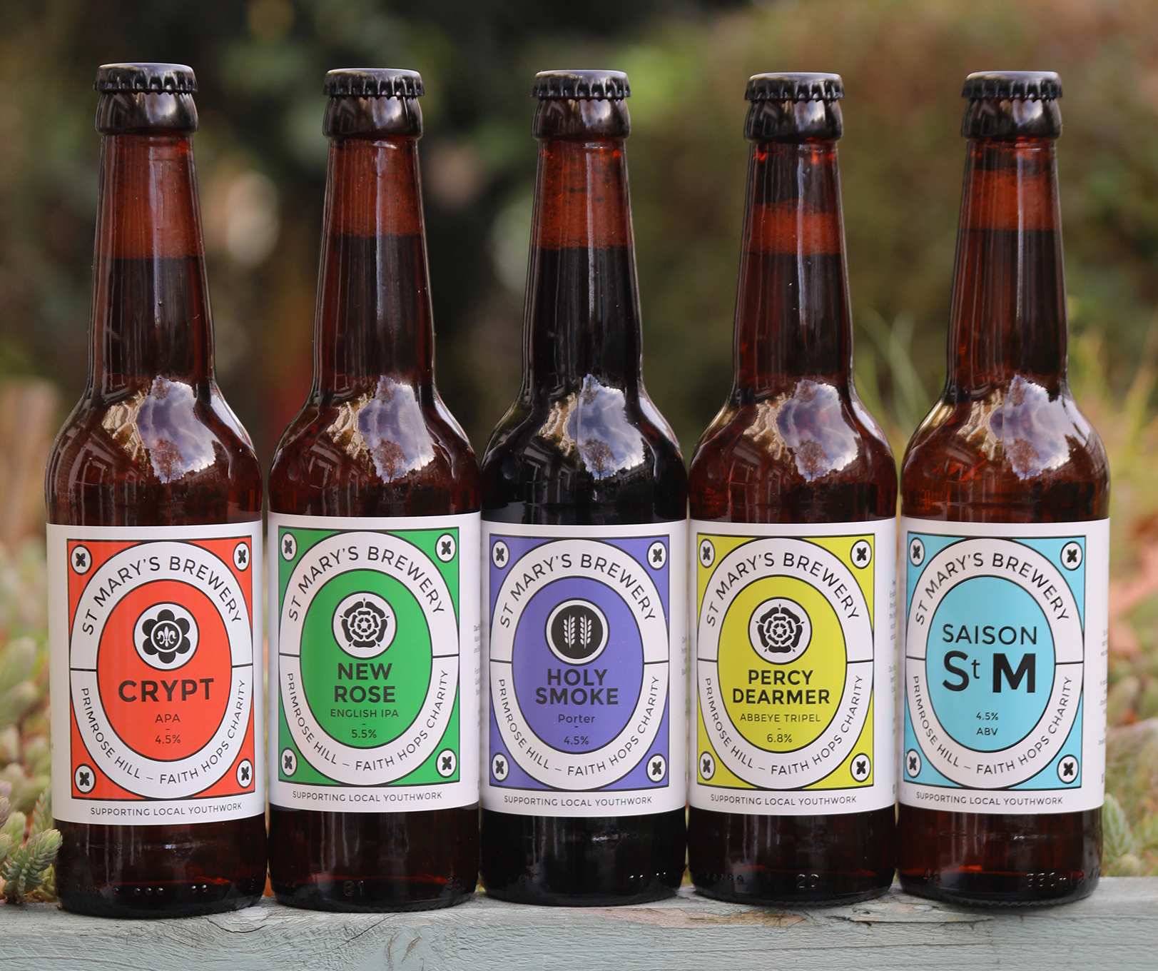 St. Mary's Brewery - We started St Mary's Brewery in 2016 based on three passions: A passion for great beerA passion to build a thriving communityA passion for the youth work of St Mary's Primrose Hill