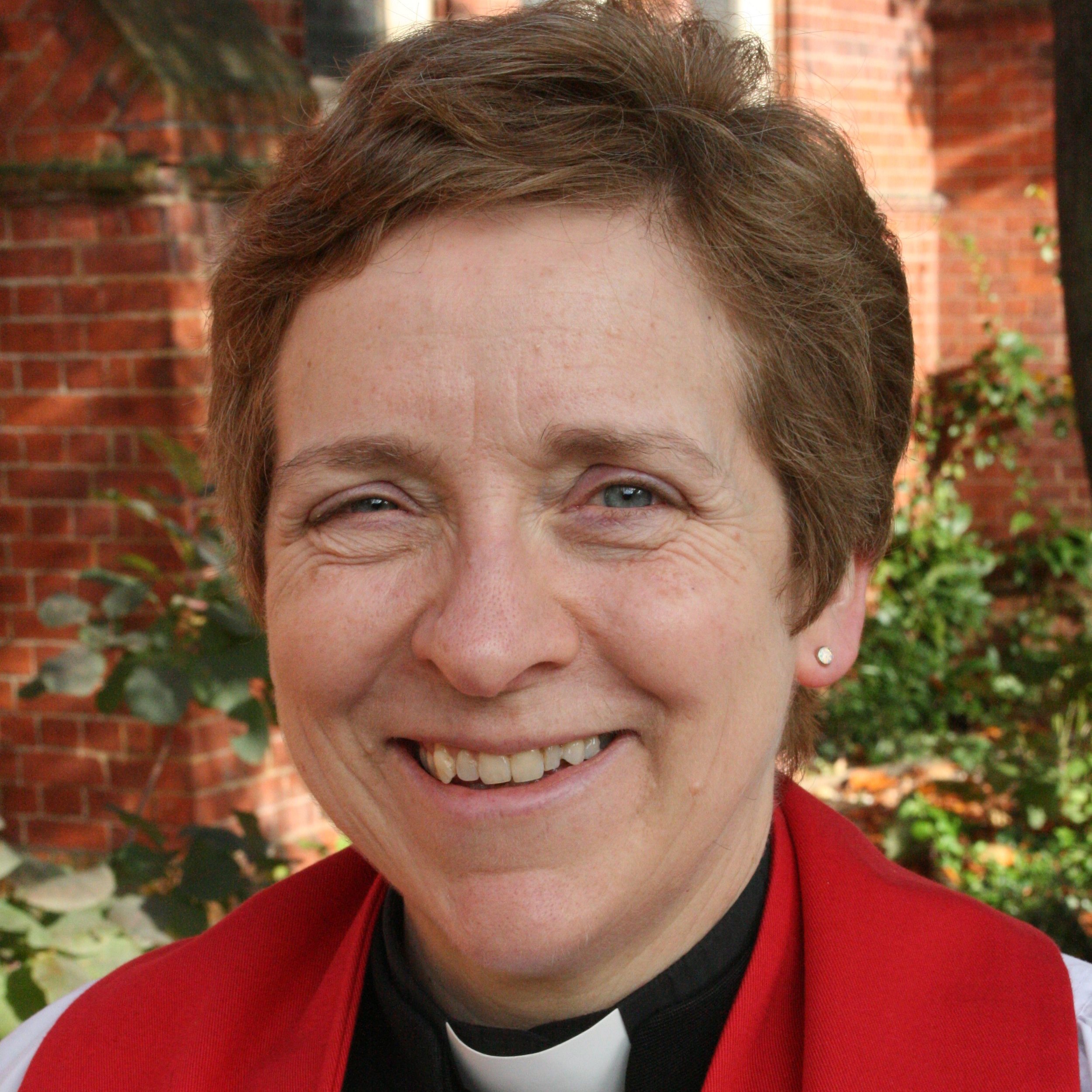 The Revd Preb Marjorie Brown - Vicar