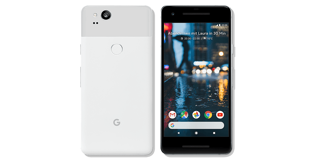 Google Pixel 2    from €39.90 / month