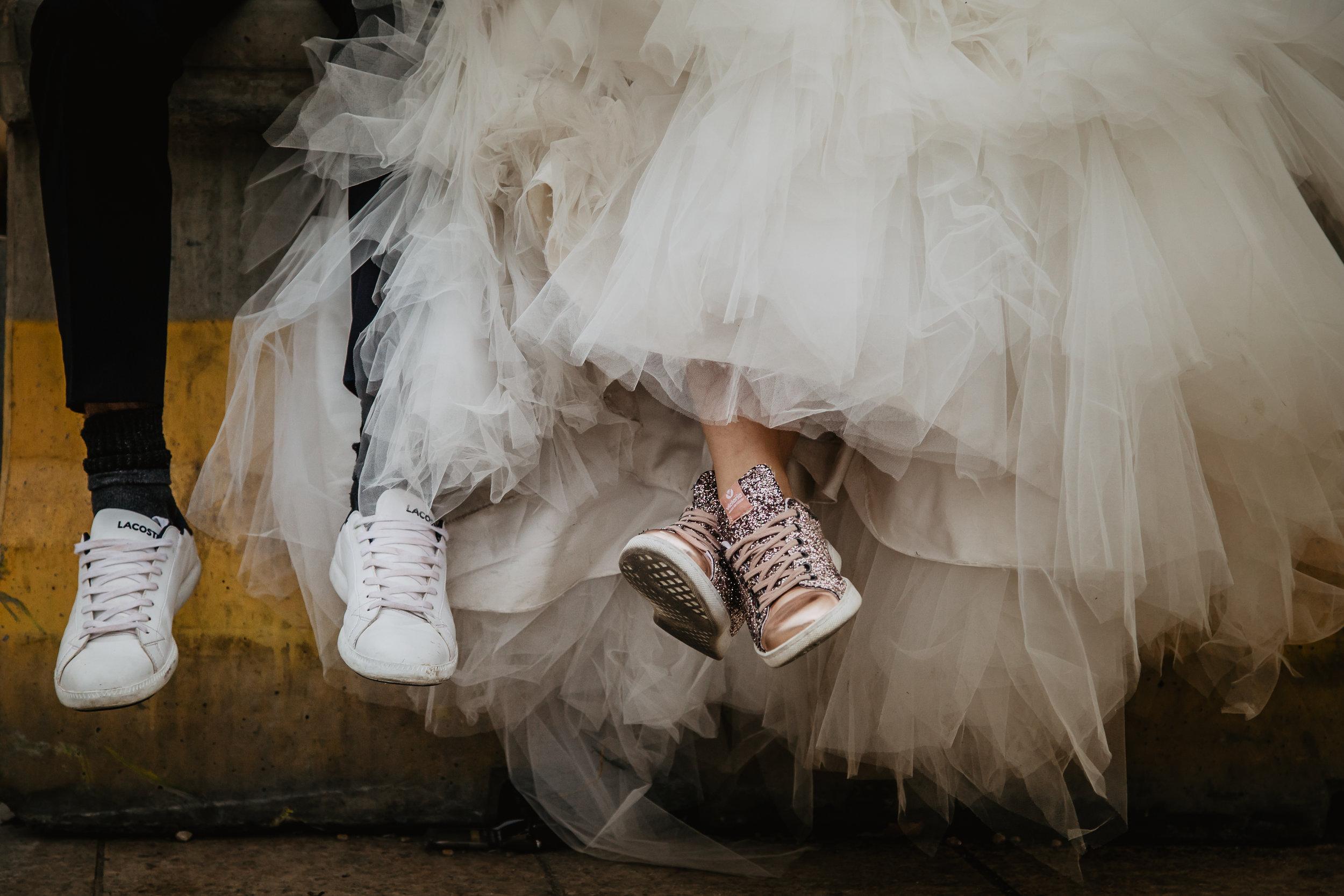 séance photo rock the dress à la vogue des marrons de Lyon