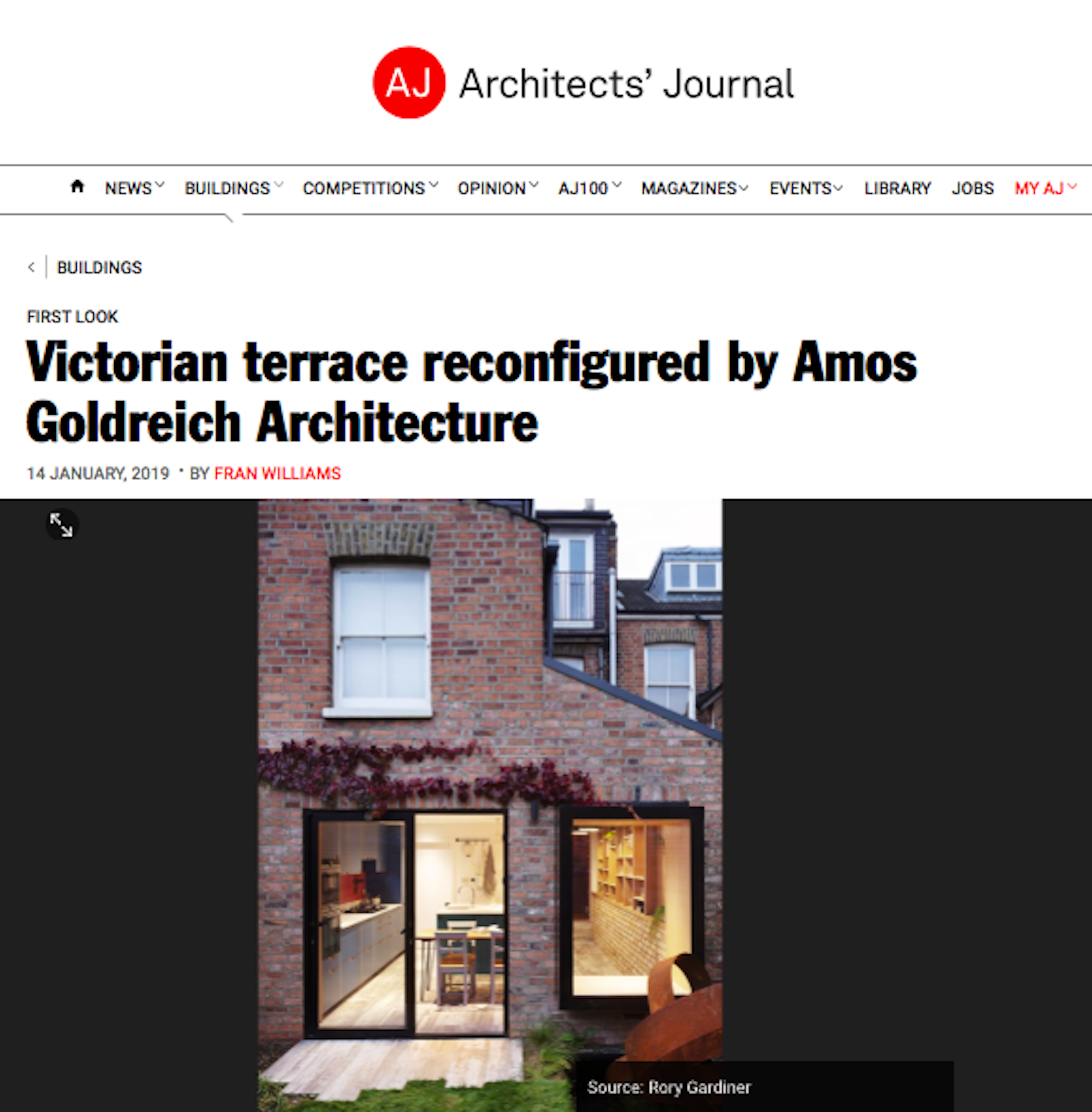 14.01.19 The Architects' Journal