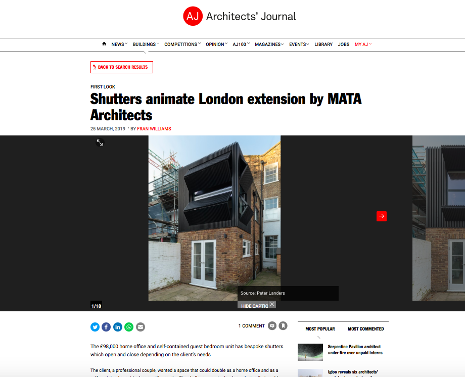 25.03.19 The Architects' Journal