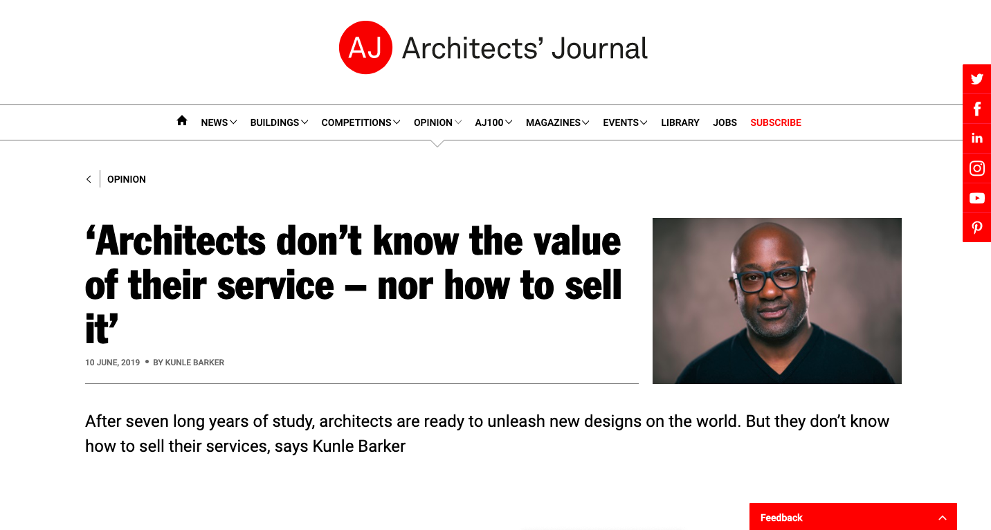10.06.19 The Architects' Journal