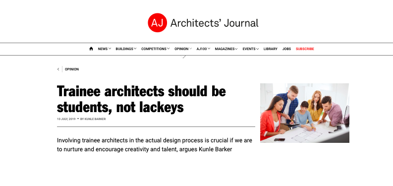 10.07.19 The Architects' Journal