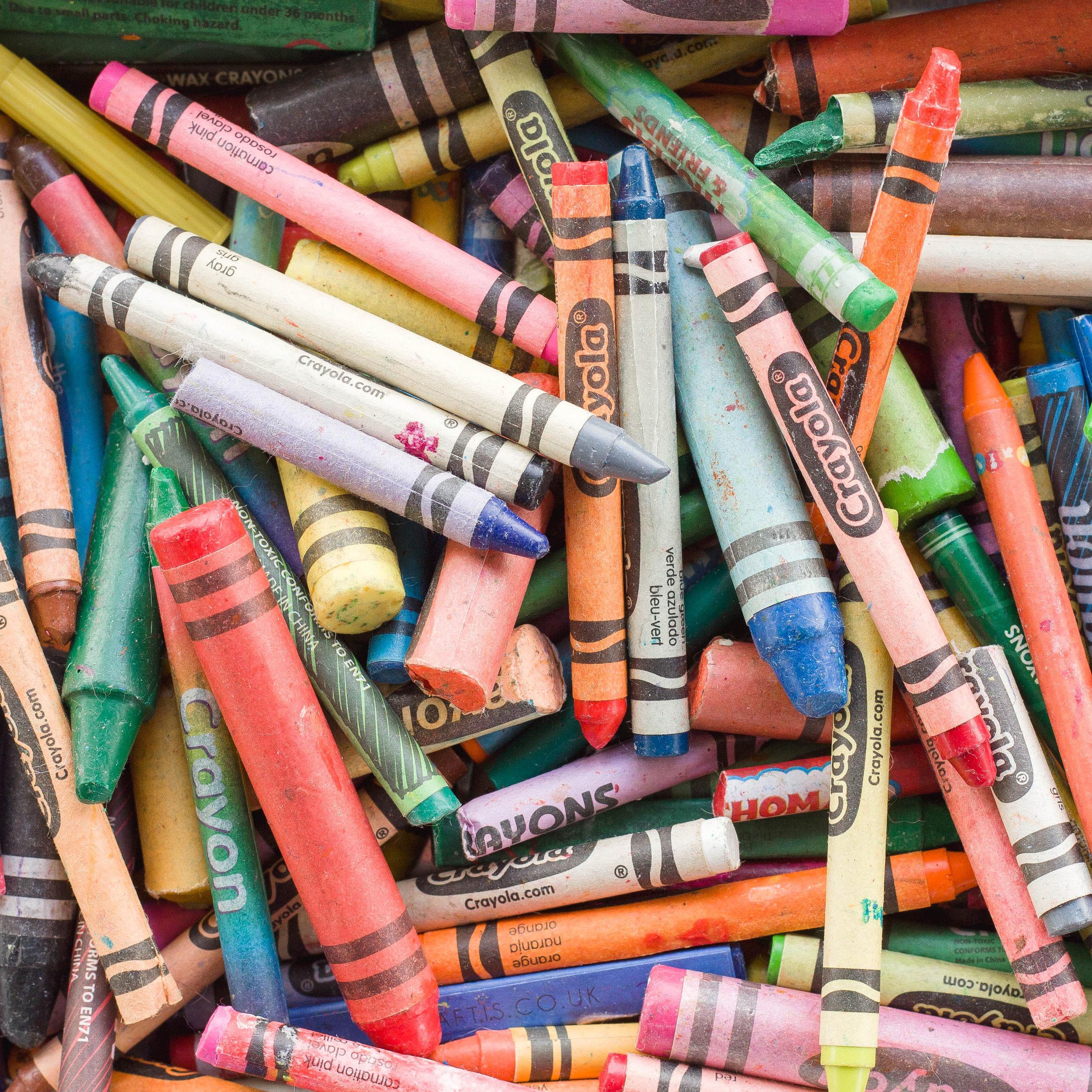 branding photography aberdeen, crayons