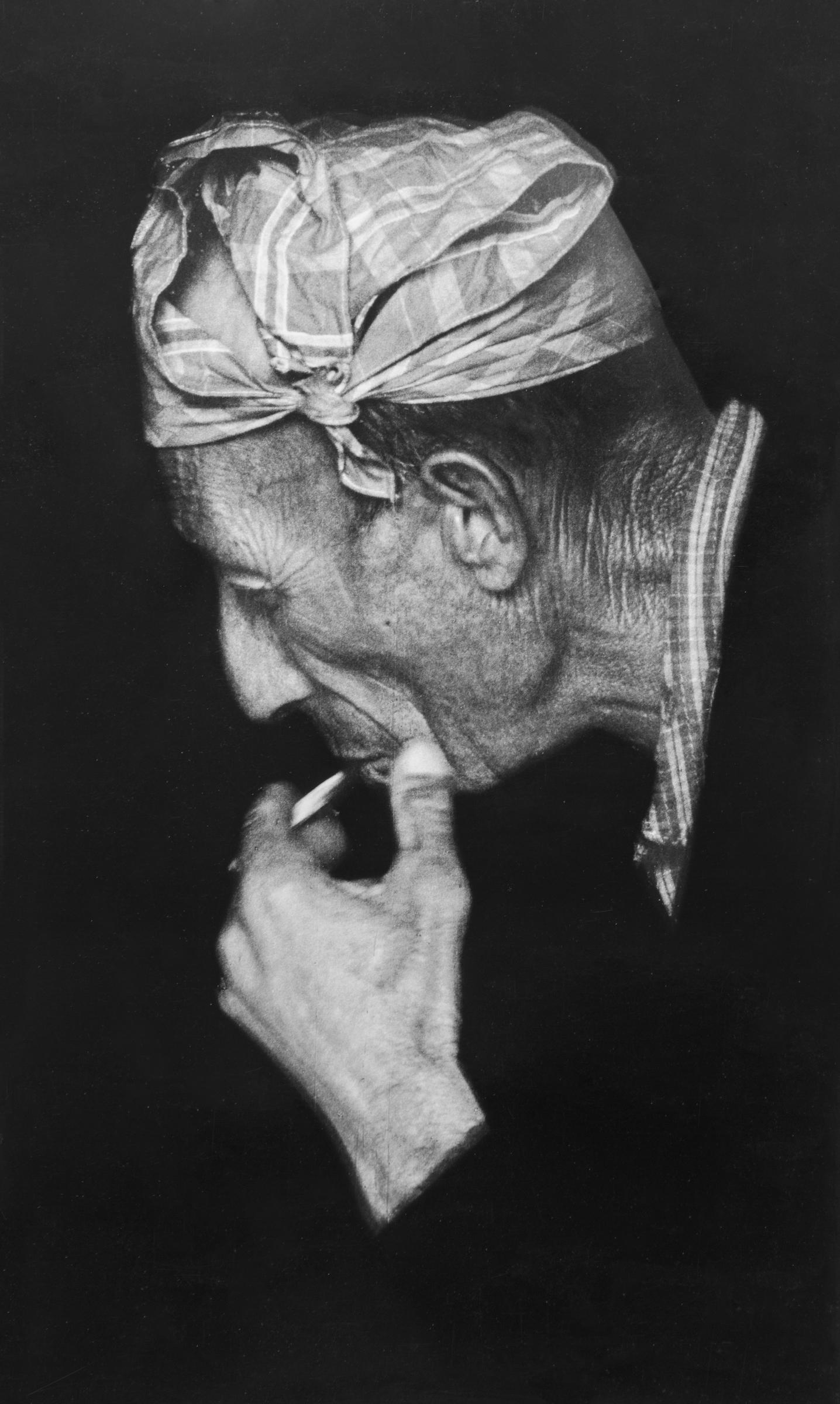 Michele Pellegrino,  Valle Pesio , 1969, scatto in pellicola 24 x 36 mm/ stampa digitale da scansione della stampa originale, 75 x 60 cm, courtesy Fondazione CRC