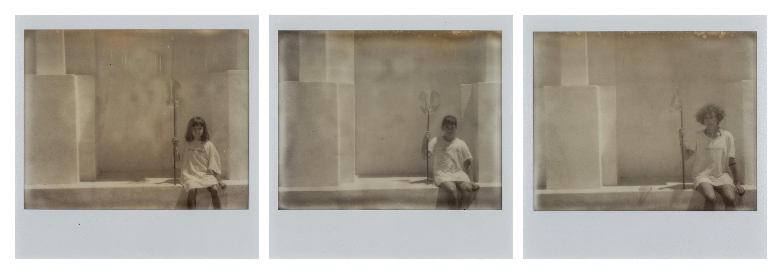Simone Mussat Sartor,  Private memories # 12 , 2018, polaroid, 28 x 51 cm, courtesy:Alberto Peola Arte Contemporanea