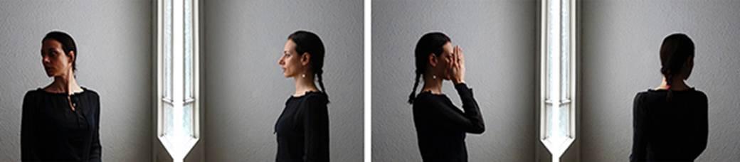 Ros Ventura,  Davanti il passato 1 , 2019, Stampa Giclée su carta perlata, 35 x 140 cm