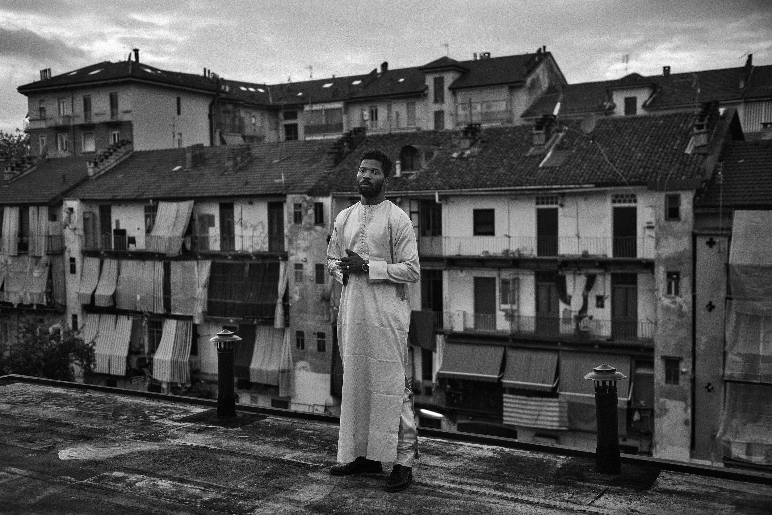 Michele Spatari,  Rising Water , 2018, Immagine digitale bianco e nero, 28,21 x 42,26 cm, courtesy © Michele Spatari