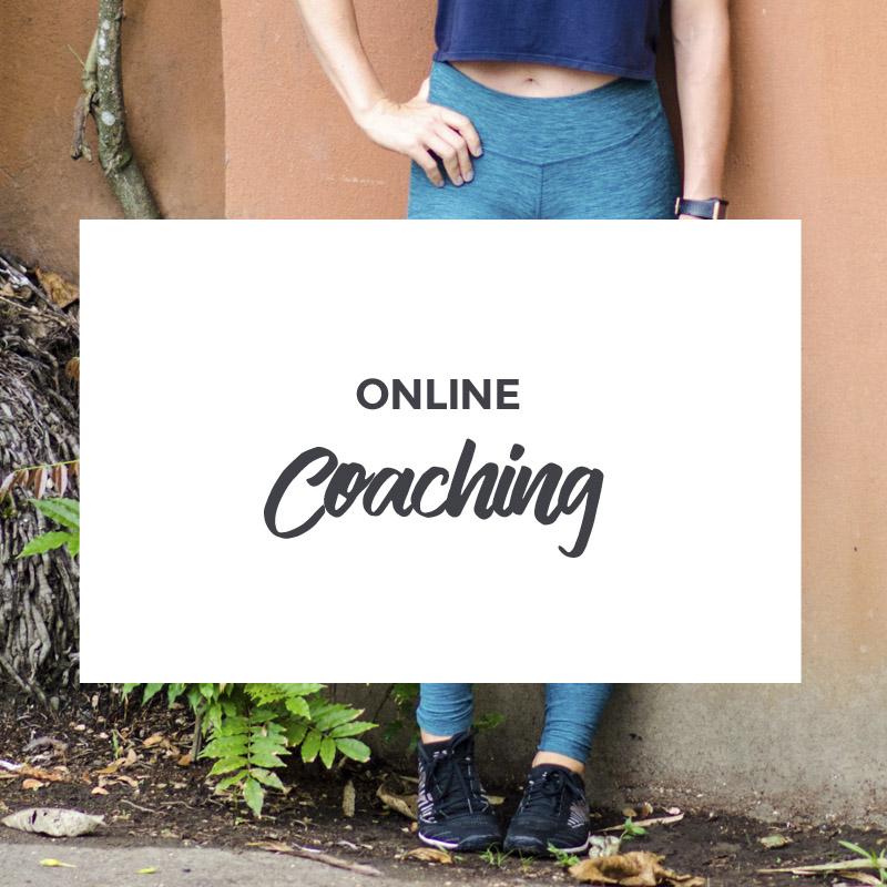 Online Health and Fitness Coaching - Amanda Mason