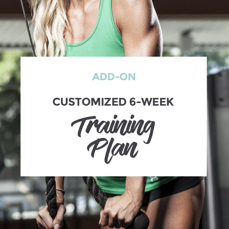 Add-on Customized 6-week Training Plan - Amanda Mason