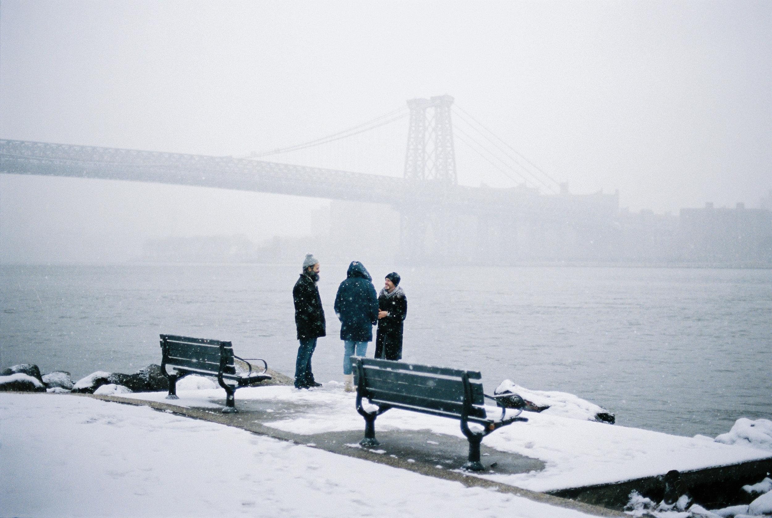 POST#1 - New York under the snow ...