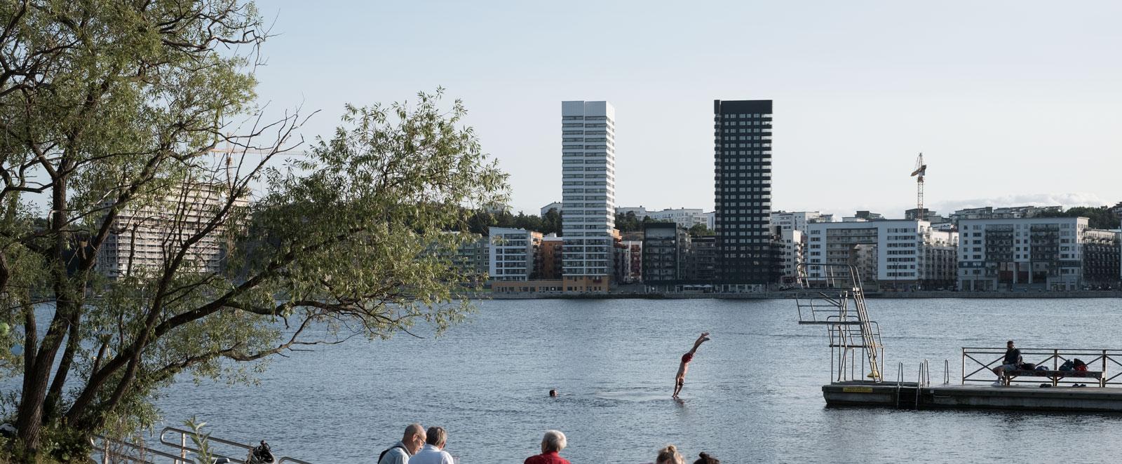 Stockholm Sodermalm.