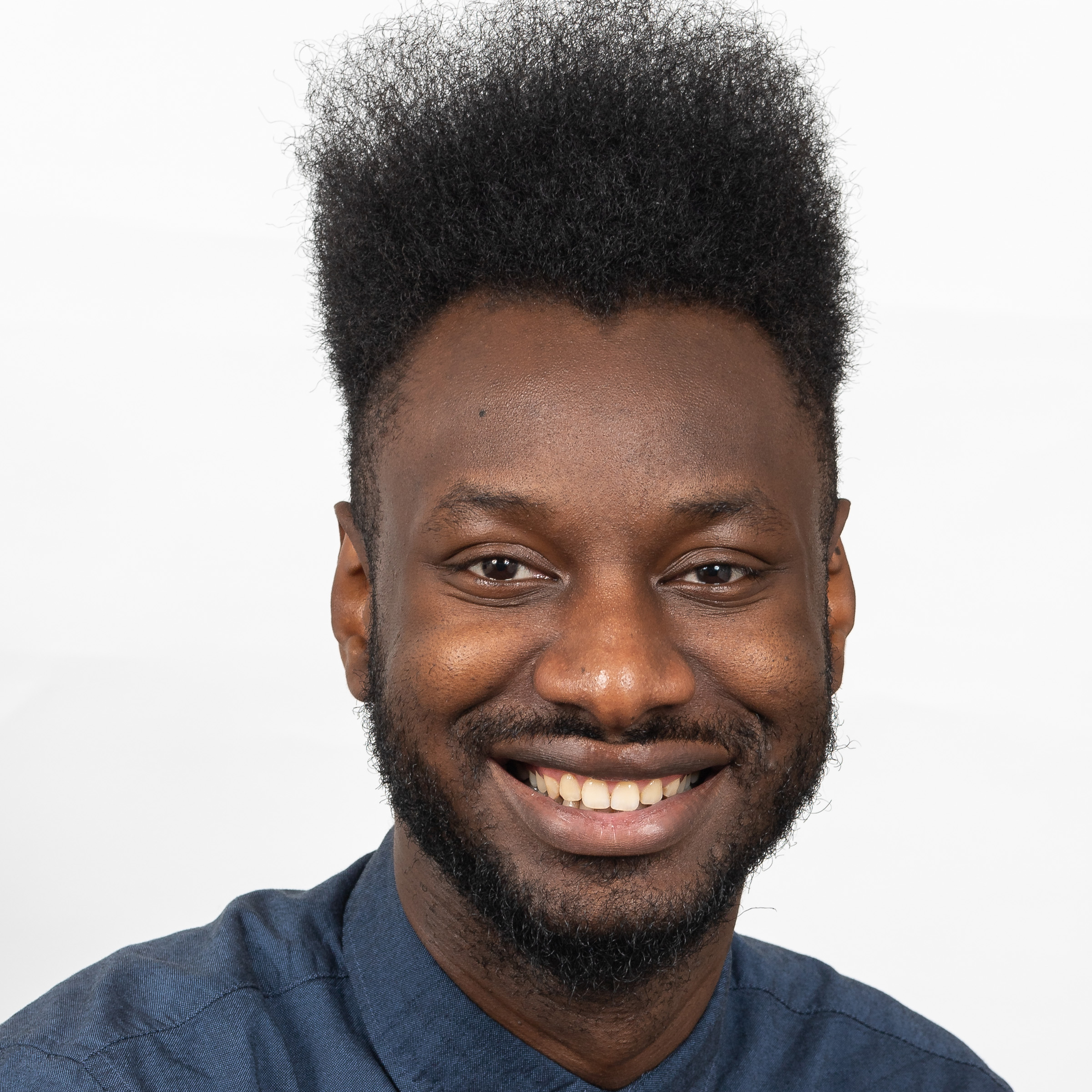 EFOSA OMOROGBE,  SENIOR FRONTEND & UX ENGINEER  Efosa is Senior Frontend & UX Engineer at Hivemind, where he helps improve the user experience of Hivemind's Software platform.   READ MORE
