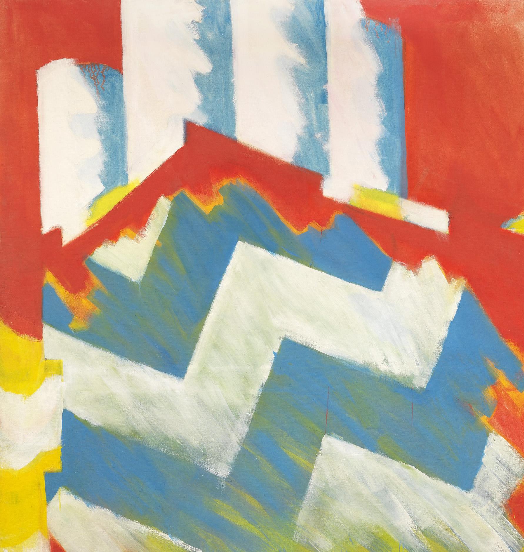 "FlipTop 214 x 173 cm (84x68"") oil on canvas"