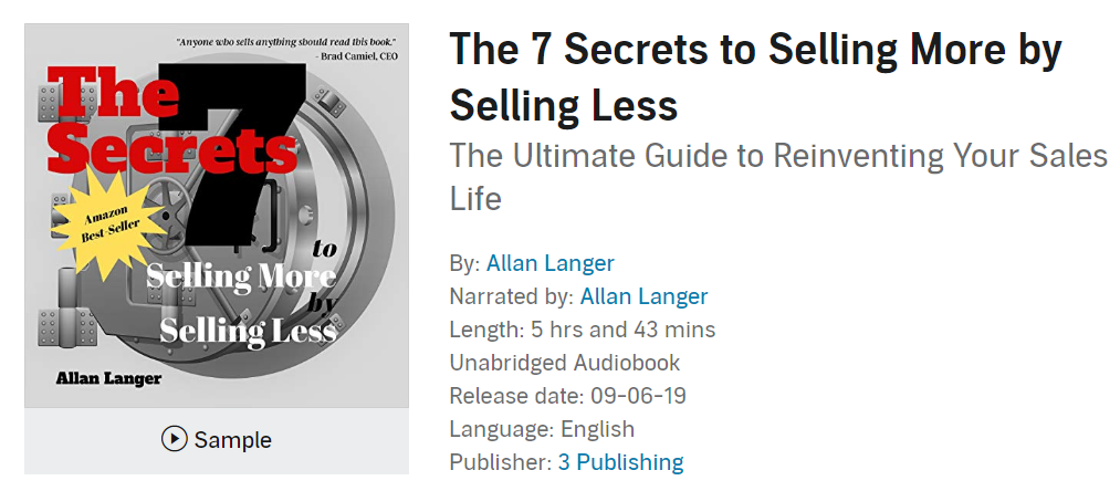 Check out the Audiobook here…