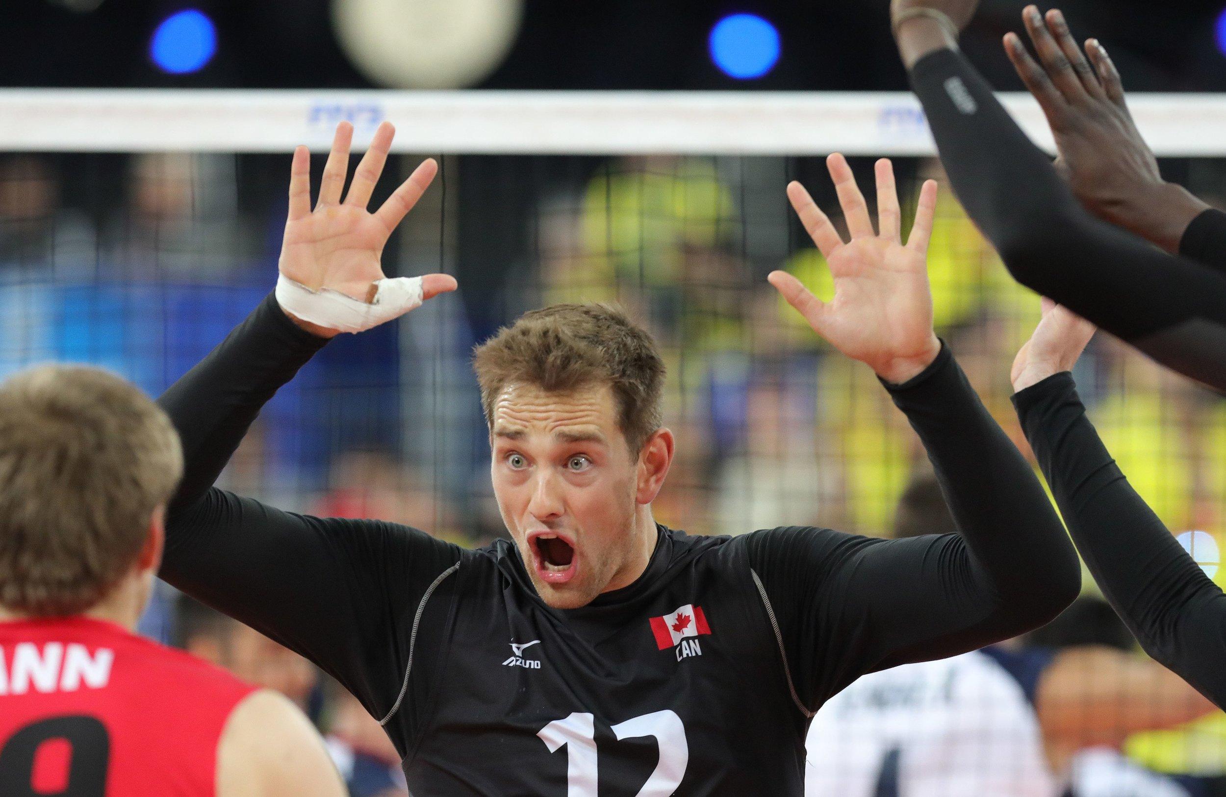 Lucas Van Berkel - Team Canada Maple Volleys