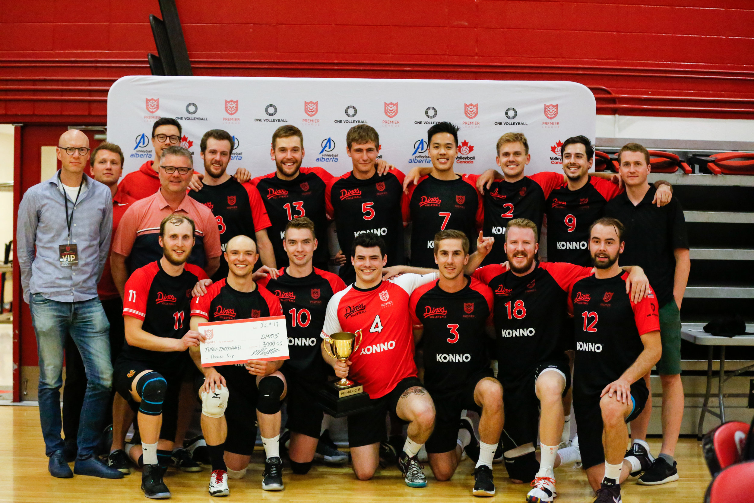 GBE Dinos Volleyball take home the 2019 Premier Cup