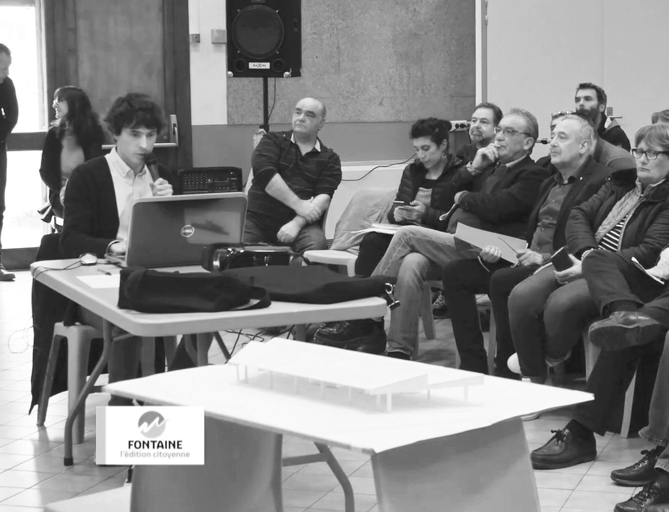 02.04.2019 - Réunion publique d'information sur le projet de Couverture du Marché Cachin à Fontaine
