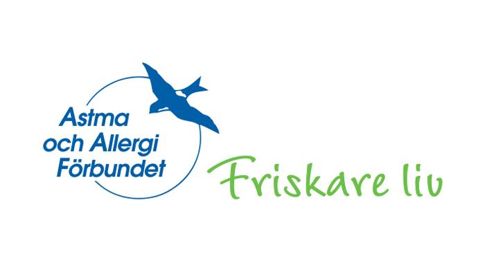 astma och allergiforbundet Sverige Logo. Logotype