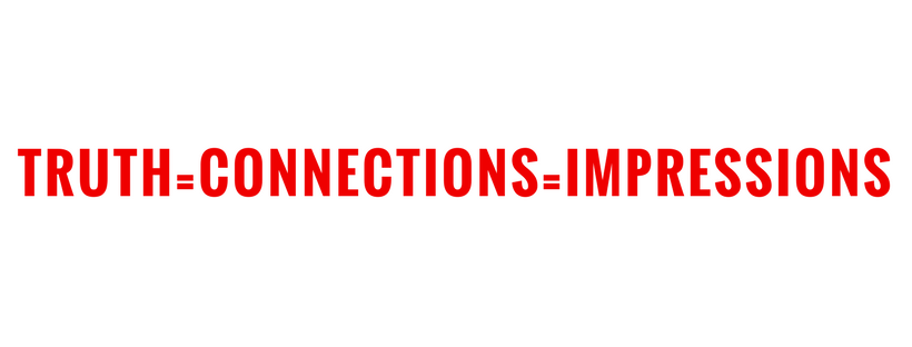 truth, connections, impressions