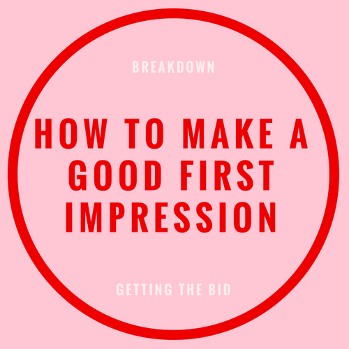 how to make a good first impression blog post