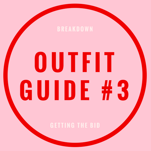 Outfit guide #3 blog post