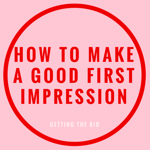 first impression blog post