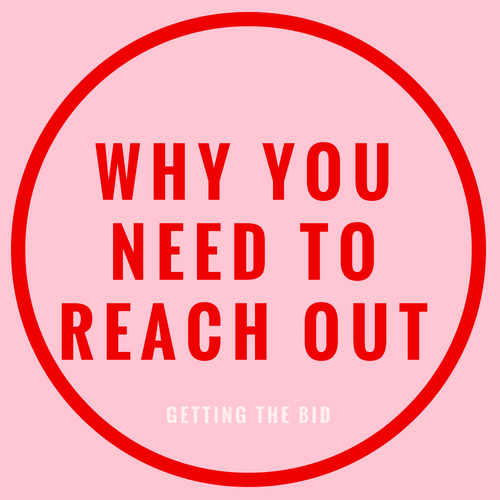Why you need to reach out blog post