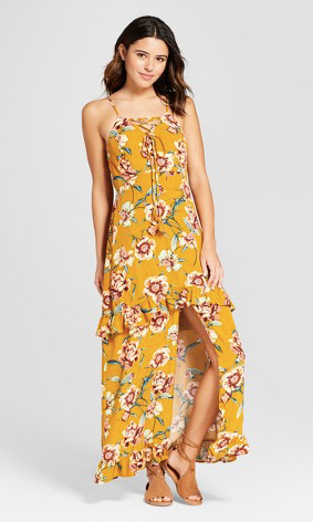 This dress is great for Philanthropy Round of sorority recruitment.