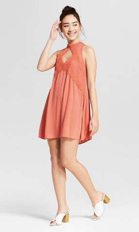 This is a great dress for Round One of sorority recruitment.