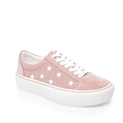 A great shoe for round one of sorority recruitment.