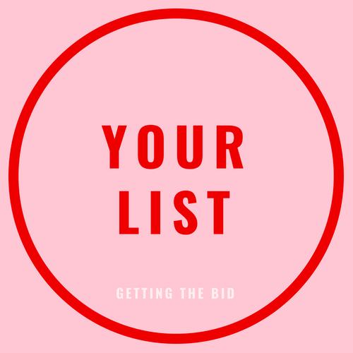 your list blog post