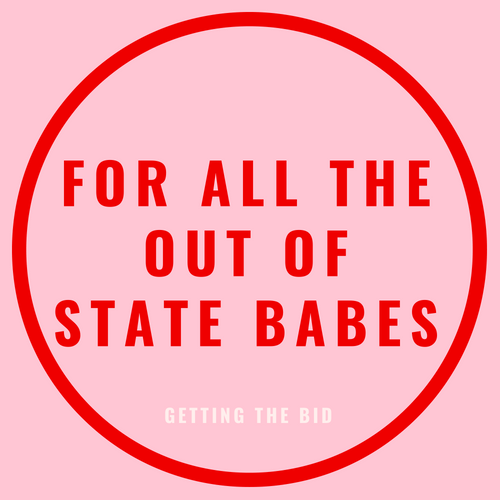 for all the out of state babes blog post