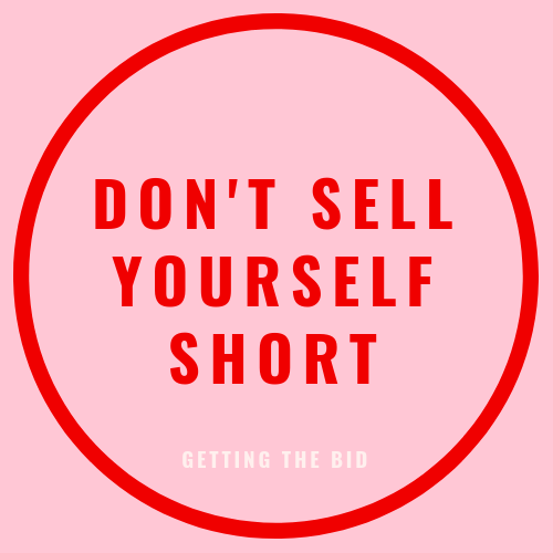 Don't sell yourself short blog post
