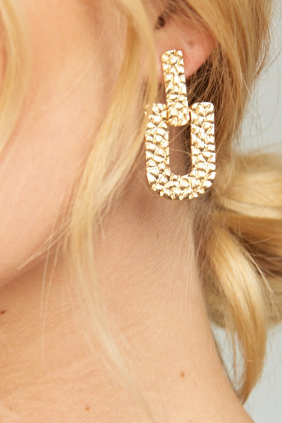 earrings for sorority recruitment