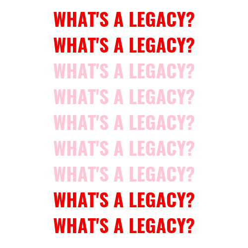 what's a legacy blog post
