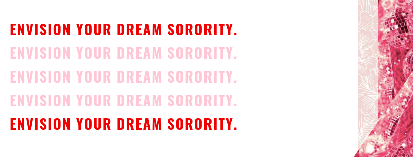 envision your dream sorority