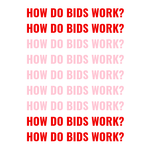 how do bids work blog post