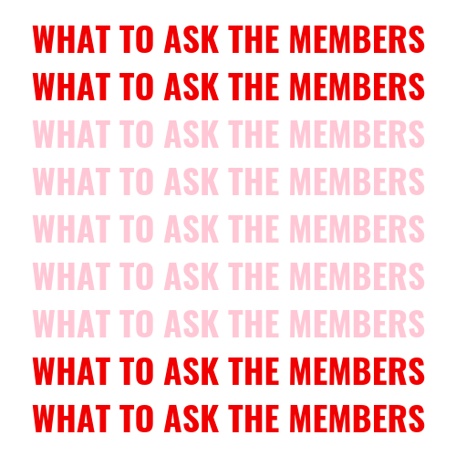 what to ask the sorority members