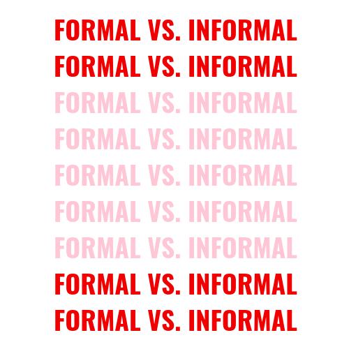 Formal vs. informal sorority recruitment blog post