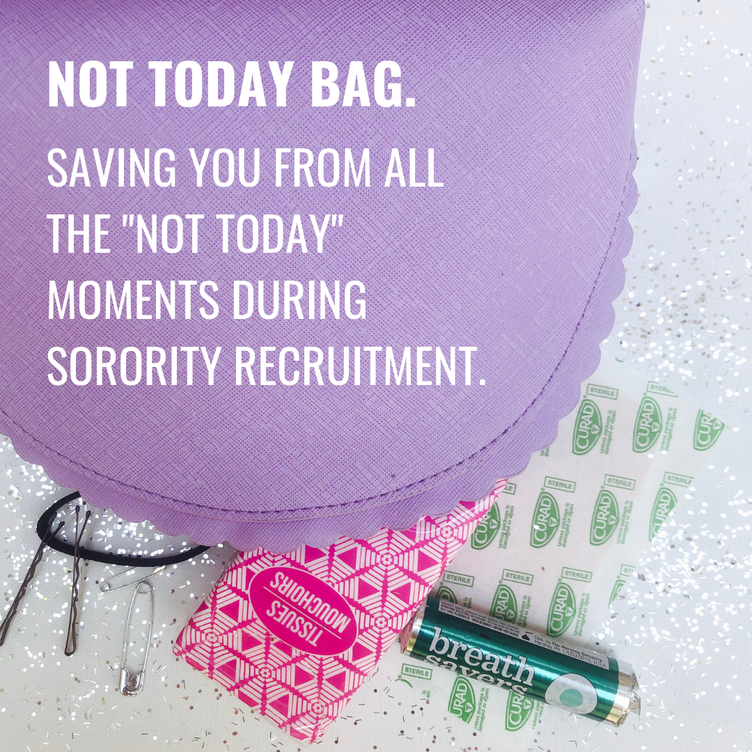 buy not today bag