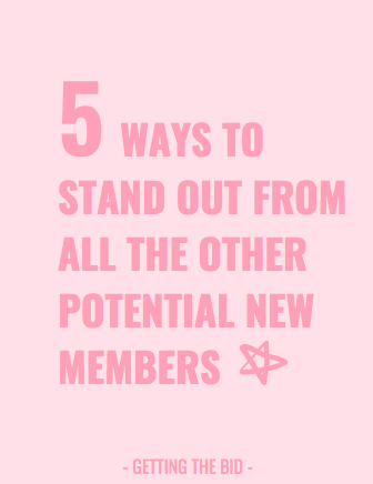 5 ways to stand out