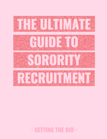 the ultimate guide to sorority recruitment