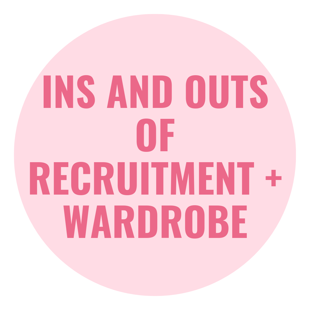 ins and outs or recruitment