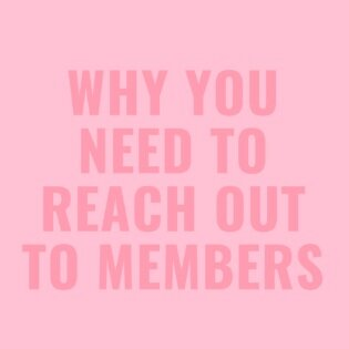 why you need to reach out