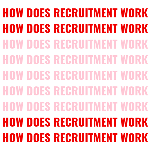 how does recruitment work blog post